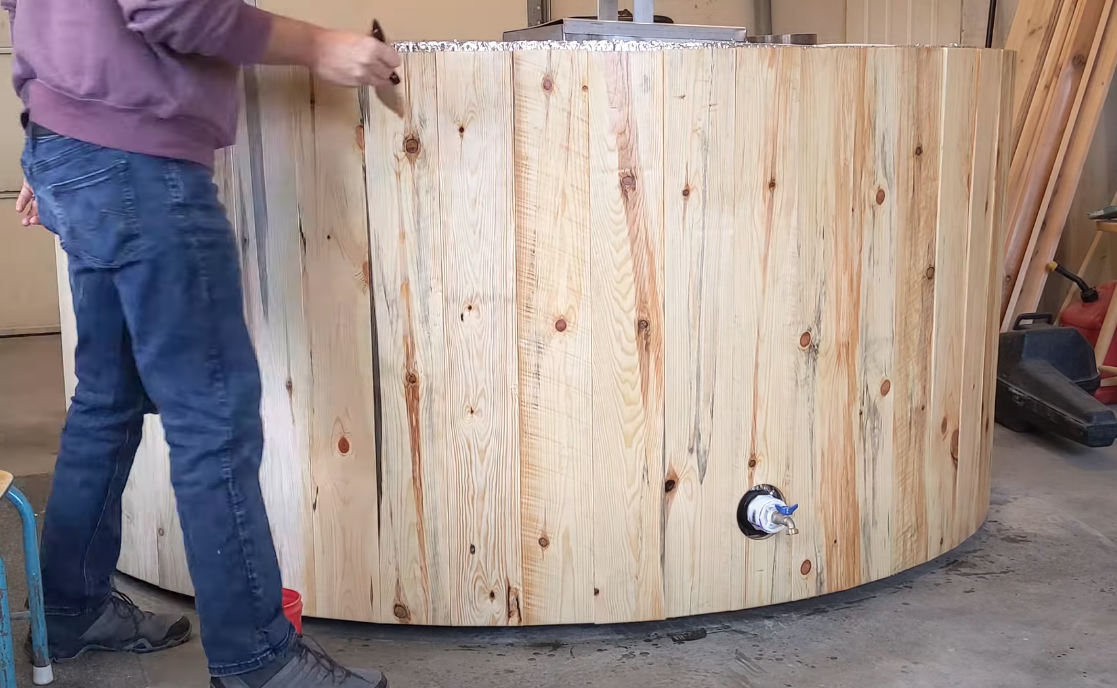 Build your own hot tub from scratch