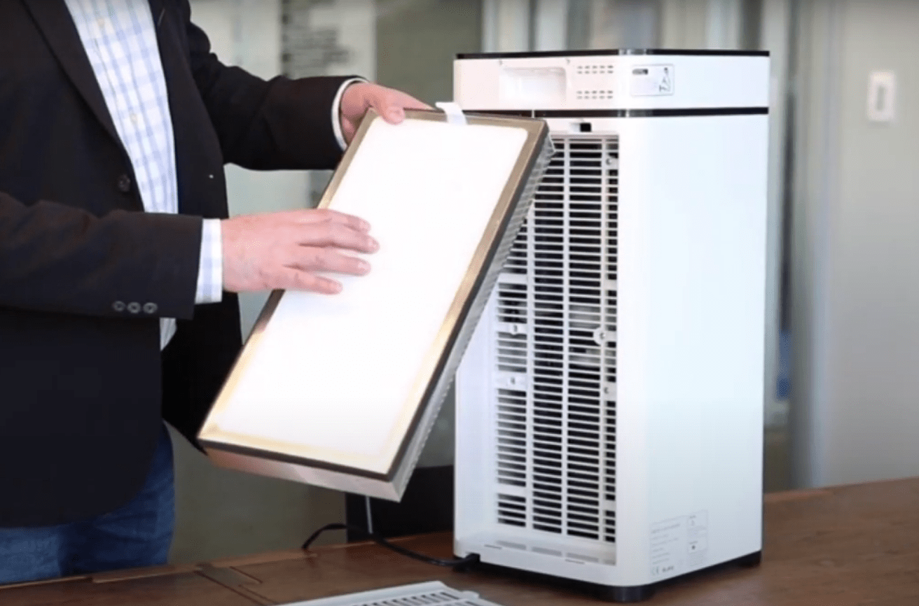 Air purification from dust: modern technologies