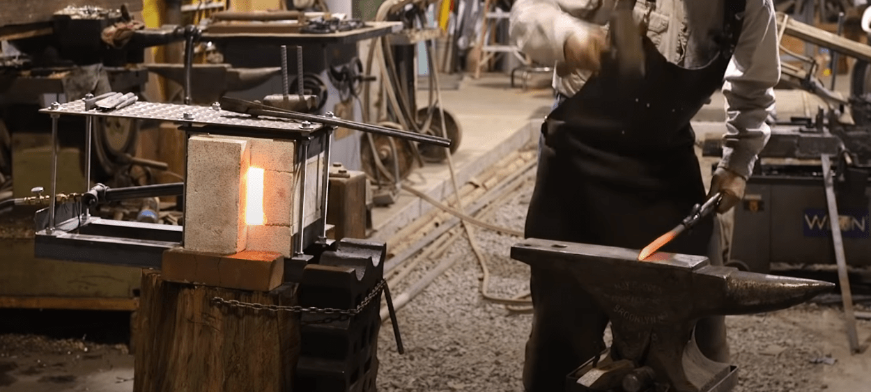 Anvil in the smithy