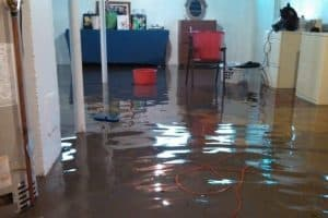 What to do when you basement is flooding