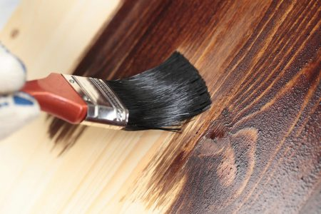 Can you stain over paint